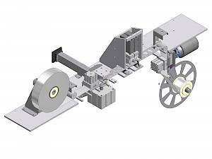 View part lenses packaging machine