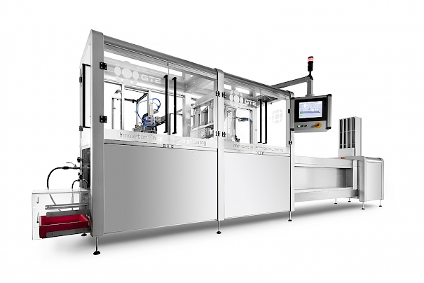 TAP-l : Linear Fill-Sealmachine for medical products