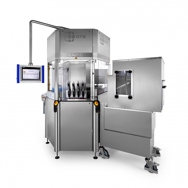 Blister packaging and sealing machine